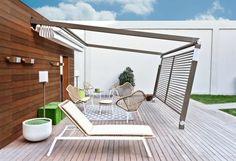 Pergola aus Metall - Bilder, die Ihnen eine klare Vorstellung davon geben, wie Sie Ihren Außenbereich oder Ihre Terrasse für den Sommer bereichern könnten