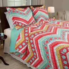 Somerset Home Zina Quilt Set - Walmart.com