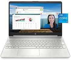 """HP 15 Laptop, 11th Gen Intel Core i5-1135G7 Processor, 8 GB RAM, 256 GB SSD Storage, 15.6"""" Full HD IPS Display, Windows 10 Home, HP Fast Charge, Lightweight Design (15-dy2021nr, 2020) Laptops For Sale, Best Laptops, Best Gaming Laptop, Laptop Computers, Latest Laptop, Amazon Electronics, Gaming Desktop, Intel Processors, Alienware"""