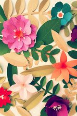 Flower Papercraft Art Activity Handmade