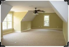 The space over the garage is an opportunity for adding a bonus room, game room, bedroom, or teen suite. The costs can be an economical solution.