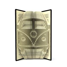 Book folding pattern CAMPER VAN 270 folds Tutorial with