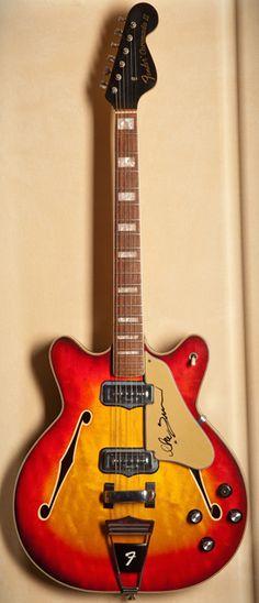 Ike Turner's '67 Fender Coronado.