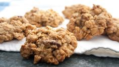 Tahini Oatmeal Cookies - these nutty cookies count as a healthy fat! Creative baker Lai McClelland-Yong made the finals in our recipe contest.
