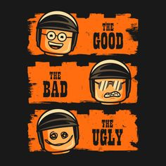 GOOD COP BAD COP UGLY COP T-Shirt $11 Lego Movie tee at TeeFury today only!