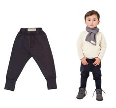 Go Gentle Baby French Terry Trousers..omg I'm in love with these for little boys!!