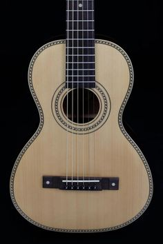 Vintage Guitars VTR800PB Paul Brett Signature Viator Travel Guitar with Bag - Natural #travelguitar