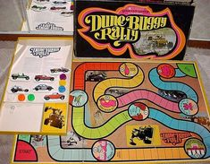 Dune Buggy Rally Game