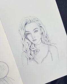 Fanart sketch of @alicelk  she's literally my art goals  I mean she's literally what I want my artworks to look like! She IS art  I'm such a fan haha ;; #sketch #art #pencil #sketchbook #alice #portrait #artist #artwork #drawing