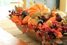 Autumn Dough Bowl