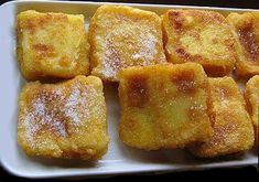 Mis Recetas de Cocina: Leche frita. Churros, Spanish Cuisine, Breakfast Dessert, French Toast, Tasty, Meals, Cooking, Desserts, Food