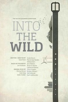 into the wild speech Christopher mccandless aka alexander supertramp into the wild website this is designed to give you a complete overview of chris and his many north american adventures, including the.