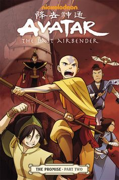 Avatar: The Last Airbender Volume 2—The Promise Part 2 TPB :: Profile :: Dark Horse Comics... finished part 1 need part 2!