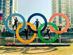 2016 Rio Olympic: US Gymnasts.SImone Biles, Gabby Douglas, Aly Raisman, Madison Kocian and Laurie Hernandez Team Usa Gymnastics, Tumbling Gymnastics, Gymnastics Quotes, Amazing Gymnastics, Olympic Gymnastics, Olympic Sports, Olympic Games, Gymnastics Stuff, Olympic Team