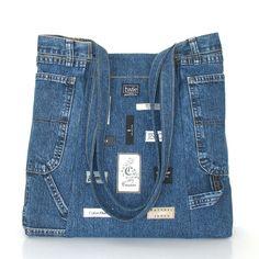 Wenn ich paar Jeans recycling bin, weiß ich, dass ich habe mehr Zeit zum Entwerfen, entwickeln Muster, und schneiden, wegen bestimmter Form und Zustand des
