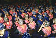 Staphorst Traditional Costume Canvas Print / Canvas Art by Henk van der Leeden Traditional Dresses, Traditional Art, Folklore, Regional, Dutch People, Canvas Art, Canvas Prints, Wonderful Picture, Fashion Fabric