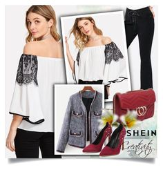 """""""SHEIN XIII/10"""" by creativity30 ❤ liked on Polyvore featuring shein"""