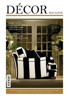 Decor Magazine 2i  DECOR Magazine is where style lives. It is the ultimate guide to decorating and design and an indispensable go-to source for everyone who wants to create a more beautiful life.   DECOR Magazine the destination for luxe living..
