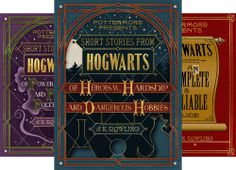 Pottermore Presents (3 Book Series) by  J.K. Rowling. Most of the info is already on Pottermore but still cute, quick, decent reads