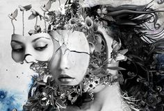 metamorphosis by optiknerve-gr on DeviantArt Beautiful Graphic, Art Images, Illustration, Portraiture, Art Projects, Metamorphosis Art, Metamorphosis, Art, Graphic Design Trends