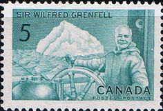Canada 1965 Wilfred Grenfell Fine Mint SG 563 Scott 438 Other Canadian Stamps Here