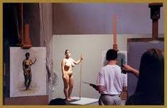 florence academy of art ile ilgili görsel sonucu Florence Academy Of Art, Artists And Models, Dark Ages, The Darkest, Poses, Inspiration, Painting, Life, Figure Poses