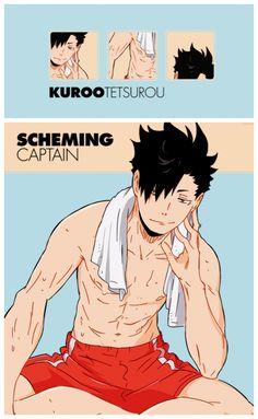 Kuroo Tetsurou [Nekoma] ~ Haikyuu!! (Anime, Deportes, Shonen, Volleyball)                                                                                                                                                                                 More