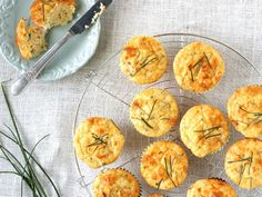 Ham and Cheese Muffins- really easy and delicious!