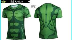 Hulk - Fitness Crossfit Short Sleeve T-shirts for Men
