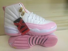 2018 Jordans For Girls White Hyper Pink Jordans Girls 4c387c51a75b9