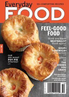 Everyday Food Magazine Subscription Martha Stewart Living Amazon