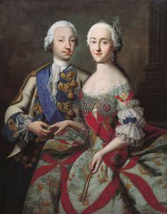 Peter III & Catherine II the Great of Russia