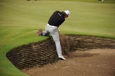 British Open at Lytham and St. Rickie Fowler, British Open, St Anne, Sports Photos, Golf Carts, Baseball Field, Good Times, Picture Video, Golf Courses