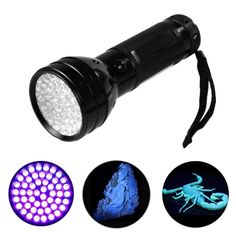 Led Lighting 51 Leds Ultra Violet Torch Light Lamp For Dog Urine Pet Stains And Bed Bug Uv Led Flashlight Blacklight Detector Consumers First