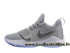 new product e6afb ad948 Basket Nike PG 1 Cool Grey 878627 ID2 Homme Officiel Nike prix Gris -  1705150842 - Le