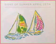 Signs of a Lilly Pulitzer Summer have sailed into The Pink Pelican!