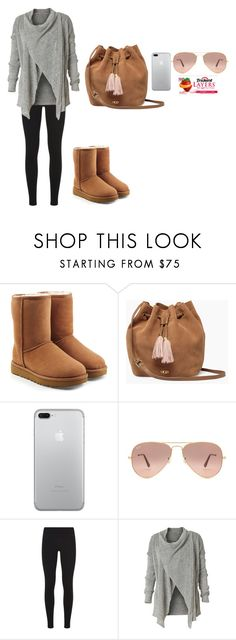 """""""🌈🙃👍🌷🌷💋😂"""" by tcolasante on Polyvore featuring UGG, Ray-Ban, NIKE and Royal Robbins"""