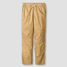 Boys' Pull-On Pant Cat & Jack Brown Paper XL, Boy's