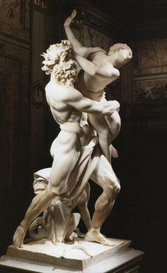 Pluto and Persephone by Bernini