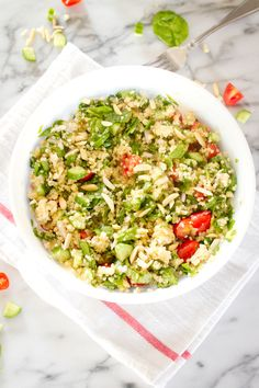 Seven slimming meal sized salads free ebook bird food salad and greek quinoa salad for summer fandeluxe Choice Image