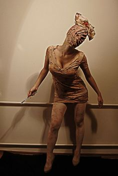 DIY Halloween - Silent Hill Nurse (by Ipek Y.) http://lookbook.nu/look/2614155-DIY-Halloween-Silent-Hill-Nurse