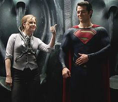 Henry Cavill and Amy Adams - Man of Steel Behind the Scenes.