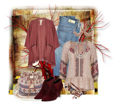 """BoHo Fall"" by chris1017 ❤ liked on Polyvore featuring AG Adriano Goldschmied, maurices, River Island, Accessorize, Roger Vivier and Zad"