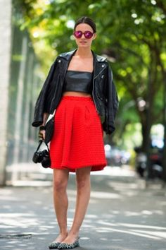 Paris: leather look