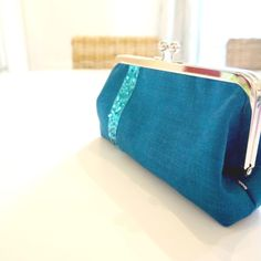 This striking blue linen sequin handbag is a proven wardrobe favourite. Versatile and gorgeous, this clutch will get your noticed! Make this a perfect gift for that hard to buy for loved one or a nice splurge for yourself! Clutch Purse, Coin Purse, Party Fashion, Women's Fashion, Handmade Clutch, Gifts For Women, Gift Guide, Birthday Gifts, Fashion Accessories