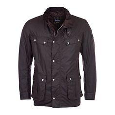 Buy Barbour Duke Wax Jacket, Rustic Online at johnlewis.com