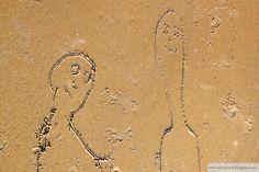 Omakuva äidin kanssa uimarannalla - Selfportrait with mom on the beach