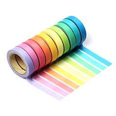 massmall Decorative DIY Tape Washi Rainbow Candy Color St... https://www.amazon.com/dp/B00YXB2816/ref=cm_sw_r_pi_dp_U_x_NV7DAbVTFV7HS