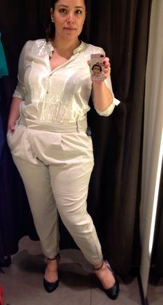 Zara: poucas opções de roupas para gordinhas  Confira este e outros looks que montei na Zara. http://belezagg.com.br/2013/12/28/zara-poucas-opcoes-de-roupas-para-gordinhas/