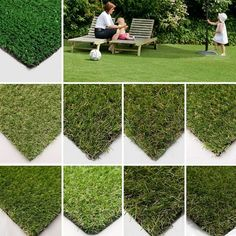 Different Types of Fake Grass